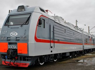 The Russian company to supply five electric locomotives 3ES5K to Uzbekistan